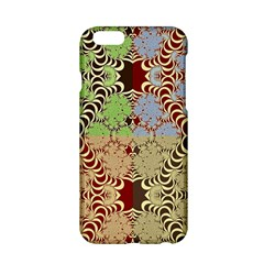 Multicolor Fractal Background Apple Iphone 6/6s Hardshell Case by Jojostore