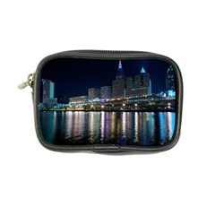 Cleveland Building City By Night Coin Purse by Jojostore