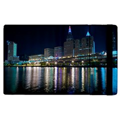 Cleveland Building City By Night Apple Ipad 3/4 Flip Case by Jojostore