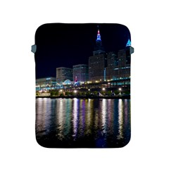 Cleveland Building City By Night Apple Ipad 2/3/4 Protective Soft Cases by Jojostore