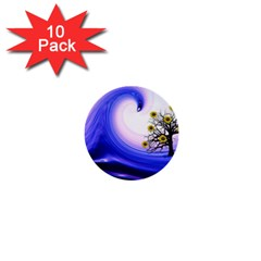 Composing Nature Background Graphic 1  Mini Buttons (10 Pack)