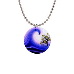 Composing Nature Background Graphic 1  Button Necklace