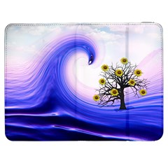 Composing Nature Background Graphic Samsung Galaxy Tab 7  P1000 Flip Case by Sapixe