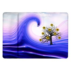 Composing Nature Background Graphic Samsung Galaxy Tab 10 1  P7500 Flip Case by Sapixe