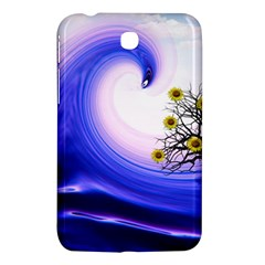 Composing Nature Background Graphic Samsung Galaxy Tab 3 (7 ) P3200 Hardshell Case  by Sapixe