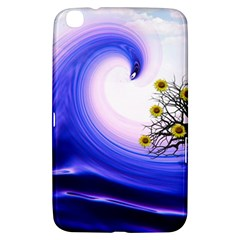 Composing Nature Background Graphic Samsung Galaxy Tab 3 (8 ) T3100 Hardshell Case  by Sapixe