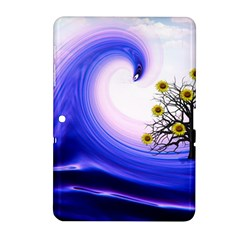 Composing Nature Background Graphic Samsung Galaxy Tab 2 (10 1 ) P5100 Hardshell Case  by Sapixe