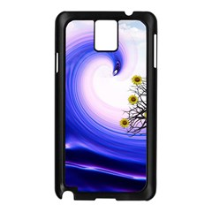 Composing Nature Background Graphic Samsung Galaxy Note 3 N9005 Case (black) by Sapixe