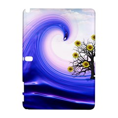 Composing Nature Background Graphic Samsung Galaxy Note 10 1 (p600) Hardshell Case by Sapixe