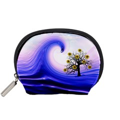 Composing Nature Background Graphic Accessory Pouch (small) by Sapixe