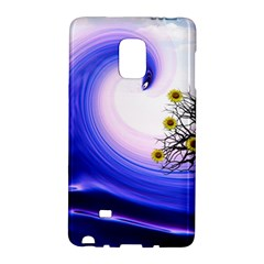 Composing Nature Background Graphic Samsung Galaxy Note Edge Hardshell Case by Sapixe