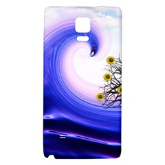 Composing Nature Background Graphic Samsung Note 4 Hardshell Back Case by Sapixe