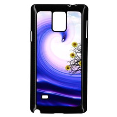 Composing Nature Background Graphic Samsung Galaxy Note 4 Case (black) by Sapixe