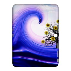 Composing Nature Background Graphic Samsung Galaxy Tab 4 (10 1 ) Hardshell Case  by Sapixe