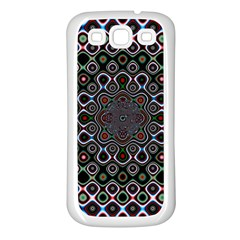 Digital Art Background Design Samsung Galaxy S3 Back Case (white)