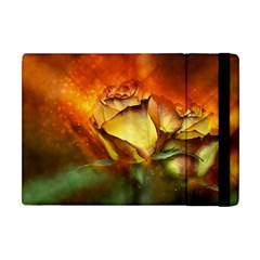 Rose Flower Petal Floral Love Apple Ipad Mini Flip Case by Sapixe