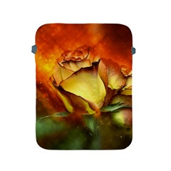 Rose Flower Petal Floral Love Apple Ipad 2/3/4 Protective Soft Cases