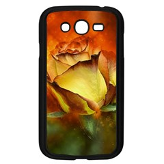 Rose Flower Petal Floral Love Samsung Galaxy Grand Duos I9082 Case (black)