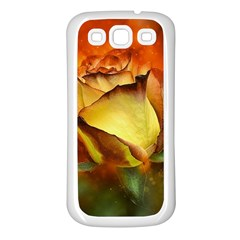 Rose Flower Petal Floral Love Samsung Galaxy S3 Back Case (white) by Sapixe