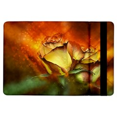 Rose Flower Petal Floral Love Ipad Air Flip by Sapixe