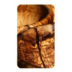 Olive Wood Wood Grain Structure Memory Card Reader (rectangular)