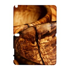 Olive Wood Wood Grain Structure Samsung Galaxy Note 10 1 (p600) Hardshell Case