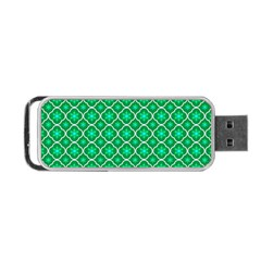 Texture Background Template Rustic Portable Usb Flash (two Sides)
