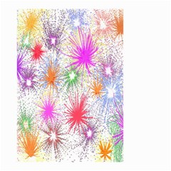 Star Dab Farbkleckse Leaf Flower Small Garden Flag (two Sides) by Sapixe