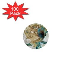 Rose Flower Petal Love Romance 1  Mini Buttons (100 Pack)