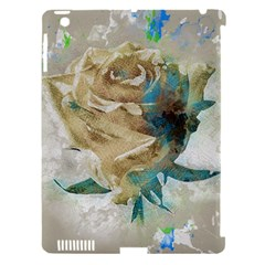 Rose Flower Petal Love Romance Apple Ipad 3/4 Hardshell Case (compatible With Smart Cover)
