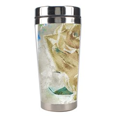 Rose Flower Petal Love Romance Stainless Steel Travel Tumblers