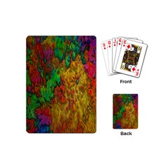 Background Color Template Abstract Playing Cards (mini)