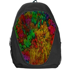 Background Color Template Abstract Backpack Bag