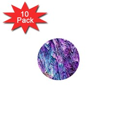 Background Peel Art Abstract 1  Mini Buttons (10 Pack)