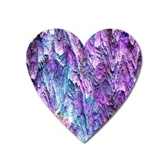 Background Peel Art Abstract Heart Magnet by Sapixe