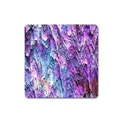Background Peel Art Abstract Square Magnet by Sapixe