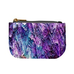 Background Peel Art Abstract Mini Coin Purse