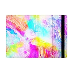 Background Drips Fluid Colorful Apple Ipad Mini Flip Case