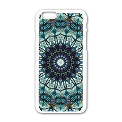 Pattern Abstract Background Art Apple Iphone 6/6s White Enamel Case by Sapixe
