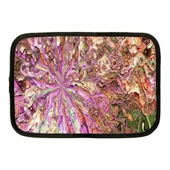 Background Swirl Art Abstract Netbook Case (medium) by Sapixe