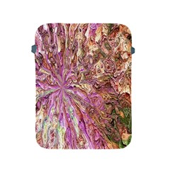 Background Swirl Art Abstract Apple Ipad 2/3/4 Protective Soft Cases by Sapixe