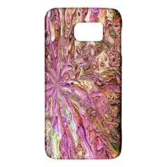 Background Swirl Art Abstract Samsung Galaxy S6 Hardshell Case  by Sapixe