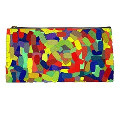 Abstract Art Structure Pencil Cases
