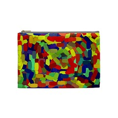 Abstract Art Structure Cosmetic Bag (medium) by Sapixe