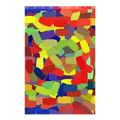 Abstract Art Structure Shower Curtain 48  X 72  (small)