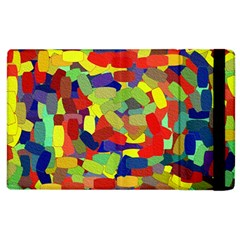Abstract Art Structure Apple Ipad 2 Flip Case