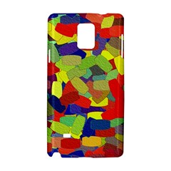 Abstract Art Structure Samsung Galaxy Note 4 Hardshell Case