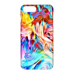Background Drips Fluid Colorful Apple Iphone 8 Plus Hardshell Case