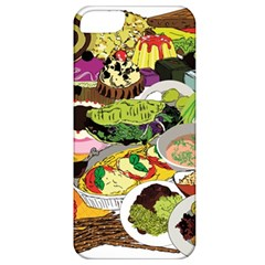 Eat Food Background Art Color Apple Iphone 5 Classic Hardshell Case