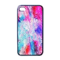 Background Art Abstract Watercolor Apple Iphone 4 Case (black) by Sapixe